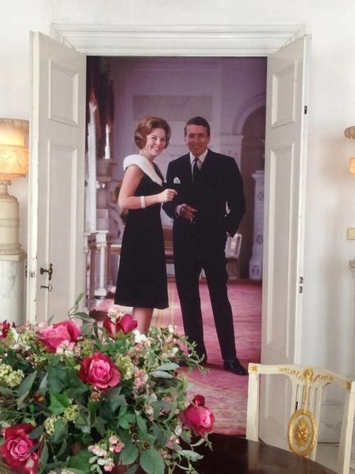 koningspaar:  Beatrix and Claus