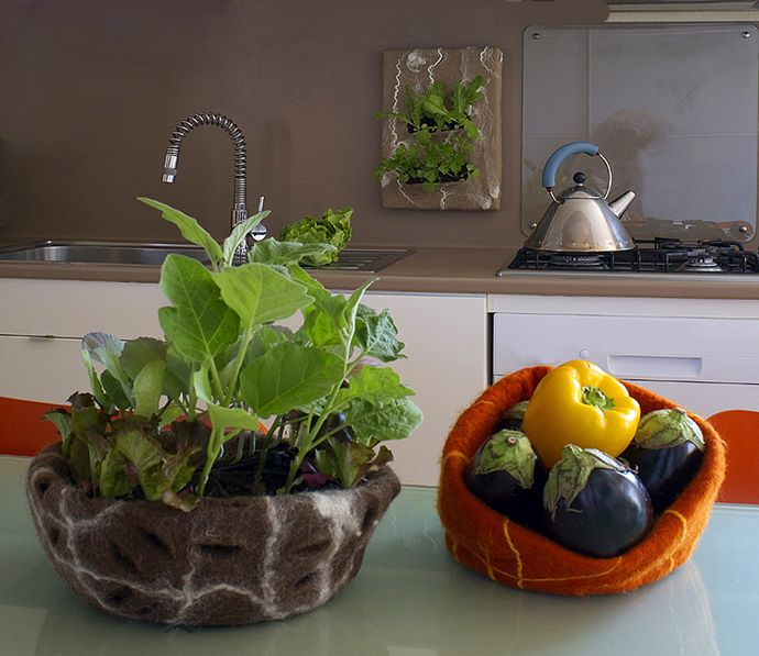 Design Judith Byberg Private house Ispra Photo Del Piano Navone. #felt  #interiordesign #furniture