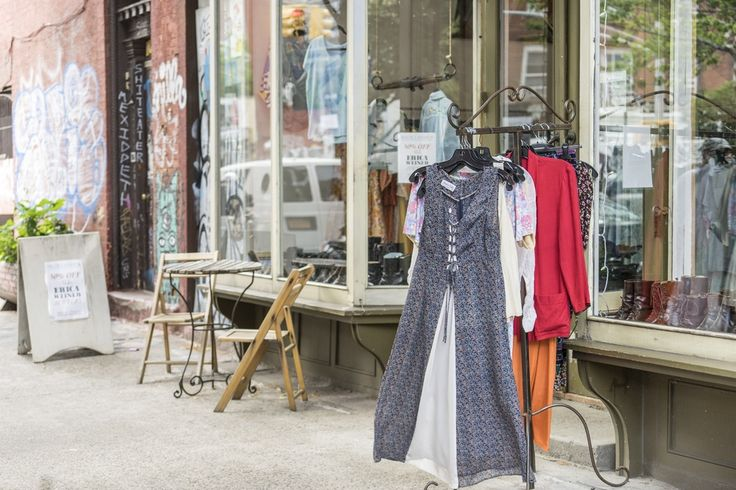 Finnish owned vintage shop in Brooklyn, NYC