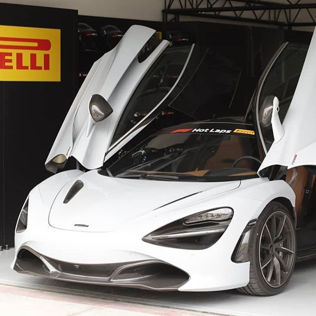 The Pirellihotlaps At Bahrain F1 This Weekend Saw The Mclaren 720s Take To The Track With Several Lucky Supercar Fans Mclaren M Mclaren Cars Mclaren Models Motor Car