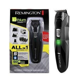 Afeitadora Hombre Remington Lithium Pg6025 Todo En 1 Lavable - $ 76.900 en Mercado Libre