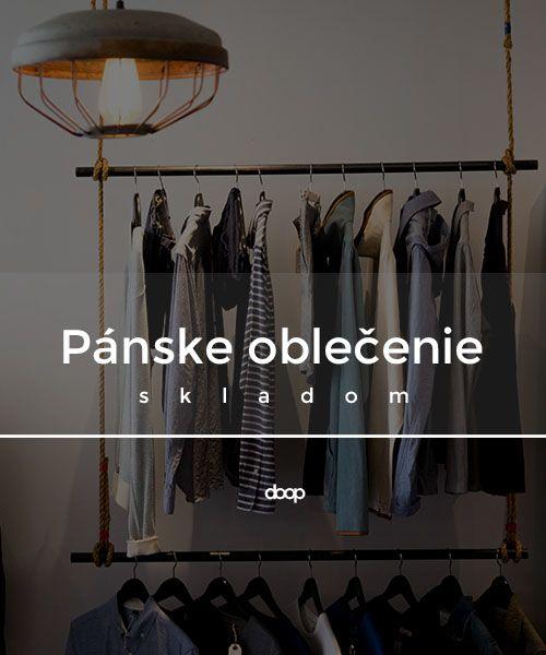 Moderné a štýlové oblečenie v podobe tričiek, mikín, kraťasov, nohavíc, plaviek…