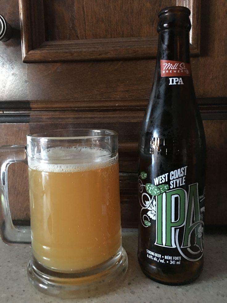 West Coast Style IPA à 6,6% par Mill St Brewery. 4/5
