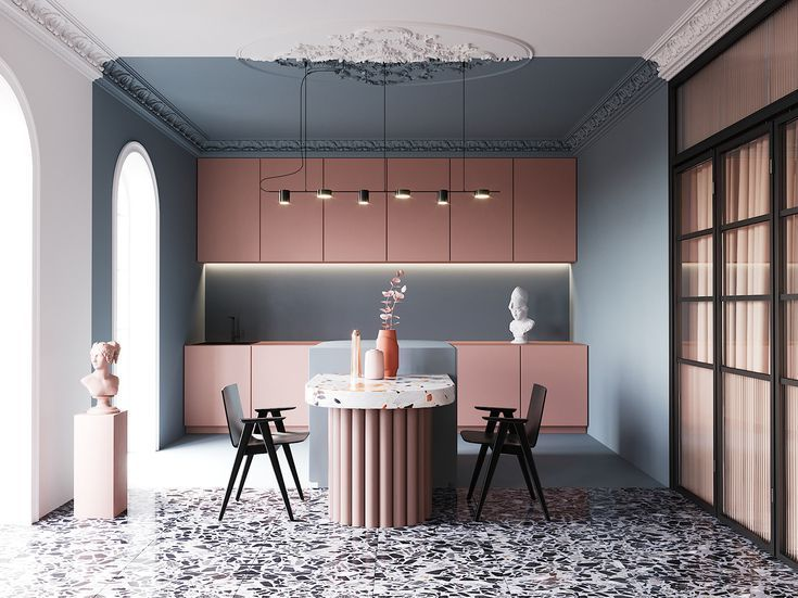 Las predicciones de diseño de interiores más grandes de 2019 emanan de …