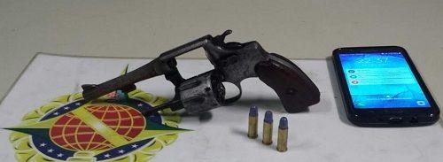 Foto: PMDF/reprodução.     Um assaltante foipreso ontem pela Polícia Militar depois de roubar cel...