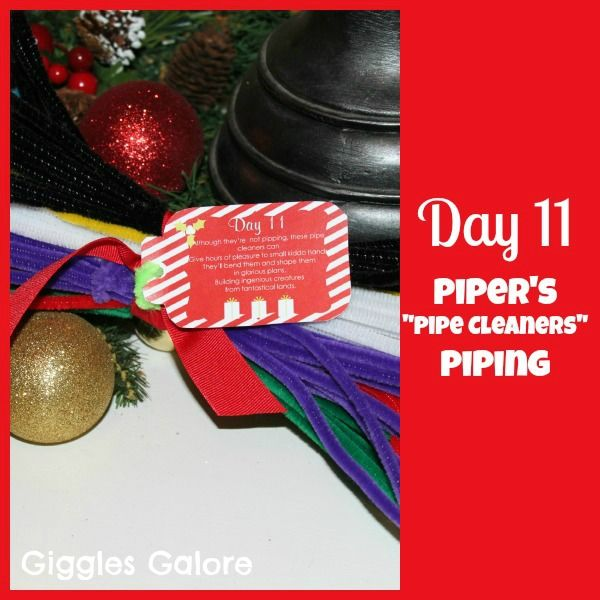 12 Days of Christmas Service {Day 11} Eleven Piper's Piping