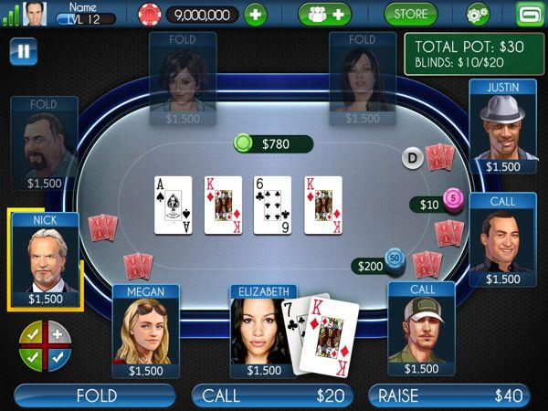 Texas Holdem Poker: Custom Tables on Behance