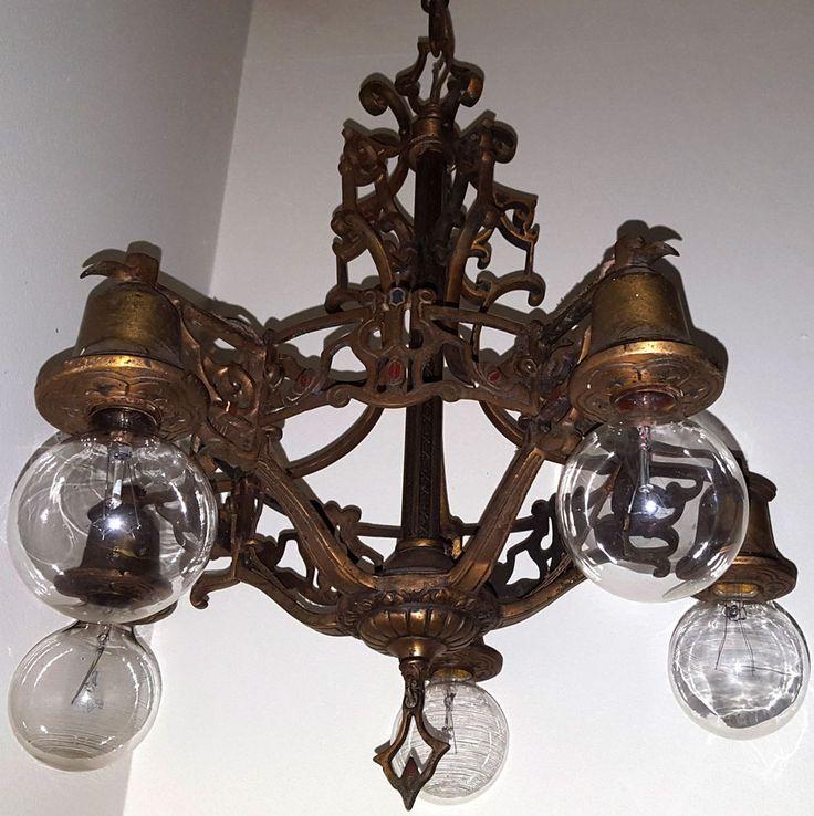 Best 20 Antique brass chandelier ideas on Pinterest Brass