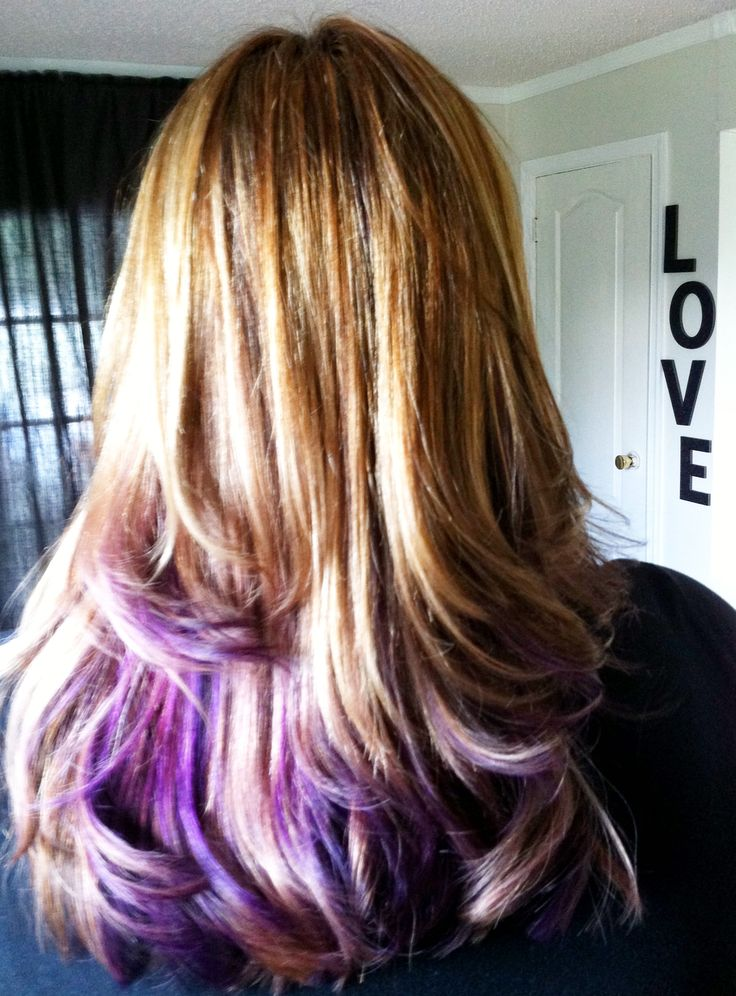 17 Best images about Blonde to Purple Ombre on Pinterest ...