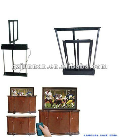 junnan convenient electric plasma bed tv lift with 340 degress swivel