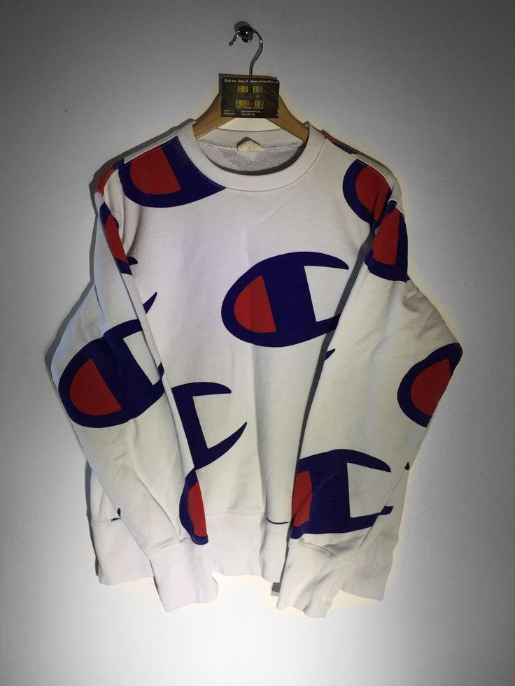 Champion Sweatshirt size Large £40  Website➡️ www.retroreflex.uk  #champion #vintage #retro #oldschool #truevintage