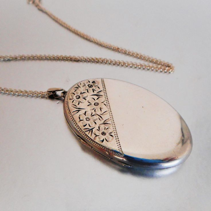 solid locket family coat with lockets of engraved shop silver arms