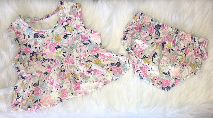 A personal favorite from my Etsy shop https://www.etsy.com/ca/listing/525093022/baby-floral-peplum-top-and-diaper-cover