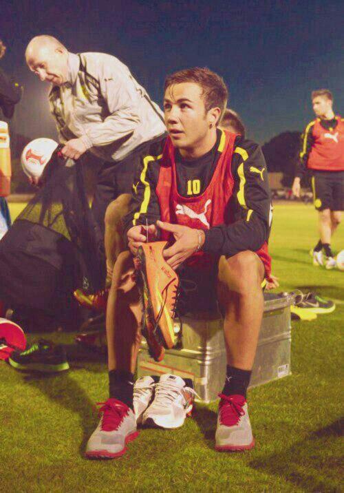 Mario Götze at BVB #footballislife
