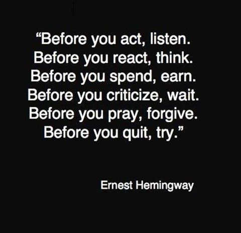 Oh, Hemingway...