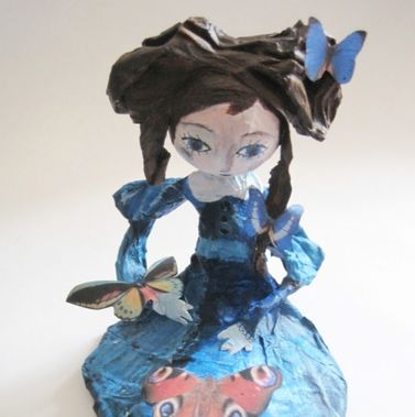 Art doll by Mlle Céleste- Sold, vendu.