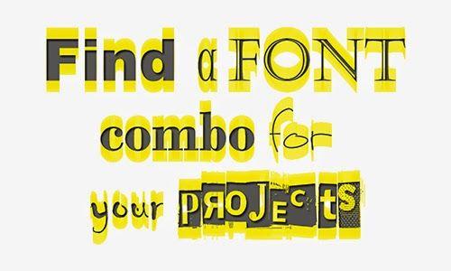 Spot the idea- Συνδυάστε γραμματοσειρές!