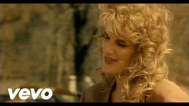 WHEN IT CAME TO BRAINS HE GOT THE SHORT END OF THE STICK - Trisha Yearwood - She's In Love With The Boy