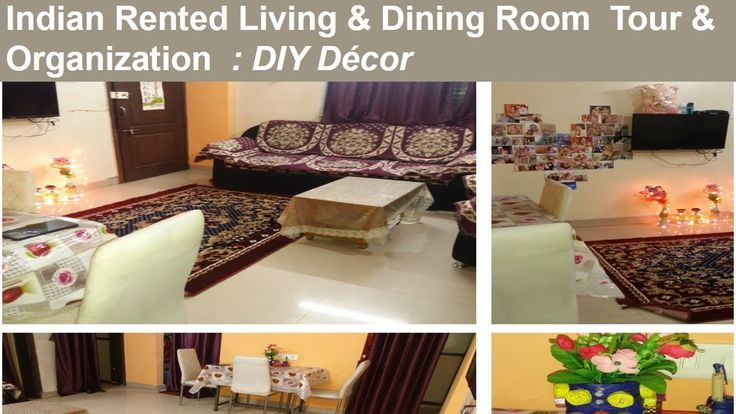 Indian Living & Small Dining Room Organization / Tour | Rented Apartment DIY Decoration – Todays Home Choice