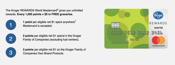 www.krogermastercard.com – Kroger Rewards MasterCard Login