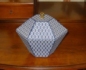 #DIY# cartonnage : Boite diamant
