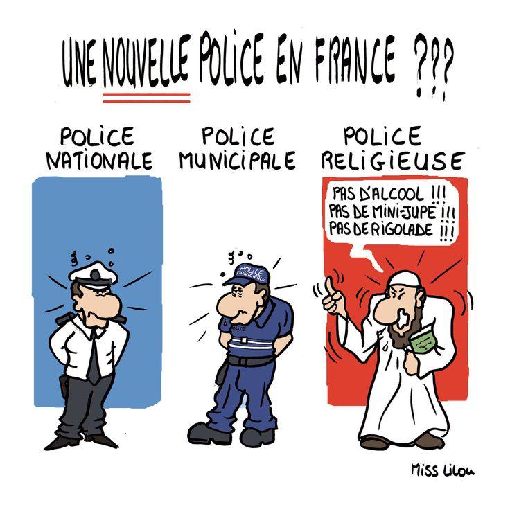 Miss Lilou (2016-06-20) France:: Une nouvelle Police en France ???