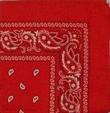 wholesale red-square-bandanas/doo-rags-(case-of-24) (Case of 48)