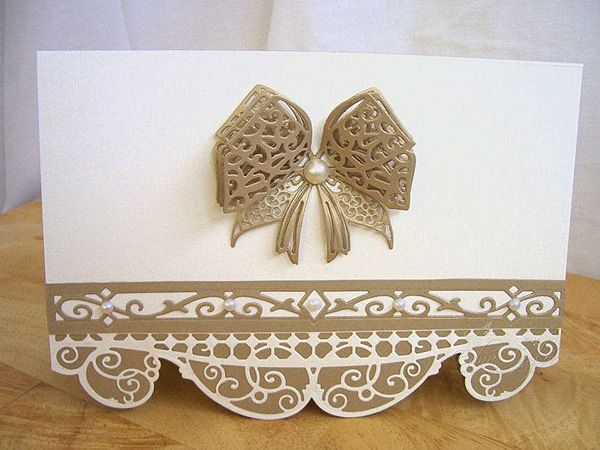 Blog tonic: Gallant Gate elegant card - a post from Edna
