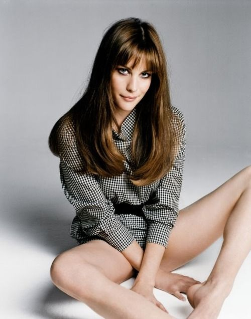 Liv Tyler-- not-the-bunny-kind. No wonder John's so in love with her.