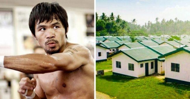 Этот парень стал чемпионом мира ипотратил все призовые деньги надома для бедных Мэнни Пакьяо