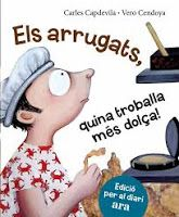 TUMATEIX  LLIBRES, parlem de llibres.: ELS ARRUGATS de Carles Capdevila i Vero Cendoya