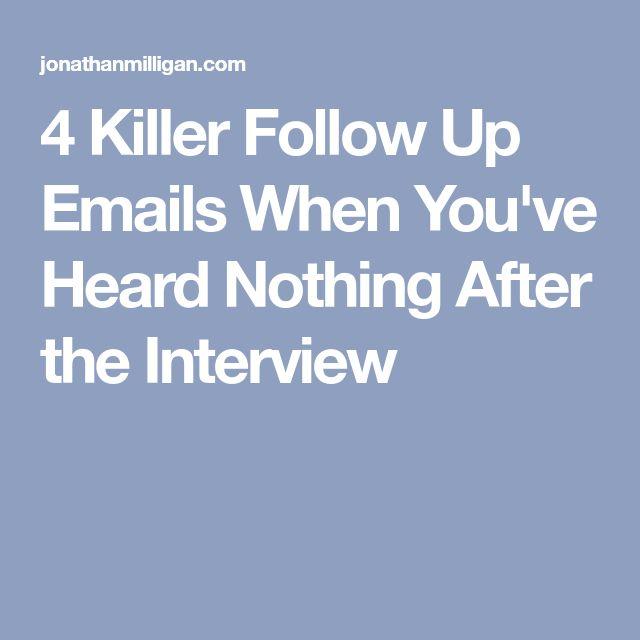 25+ legjobb ötlet a Pinteresten a következővel kapcsolatban - follow up email after interview template