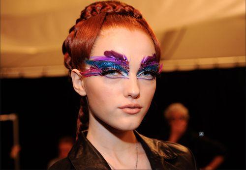 purple with feathers #SephoraColorWash #Purple