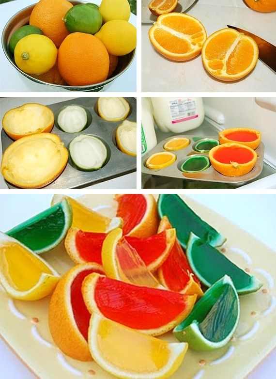 Great a huge hit...just make sure you cut the same way as the pic! Jello Oranges