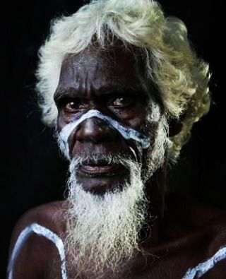 Australian aboriginal man