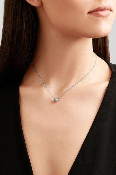 Piaget   Possession 18-karat white gold diamond necklace   NET-A-PORTER.COM