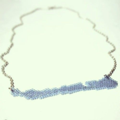 Lake Balaton #necklace #handmade #handmadeaccessories #jewelry #Balaton (at Szeladon)