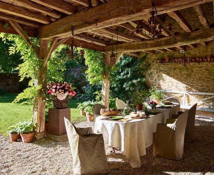 Come arredare la veranda in stile provenzale - Arredamento per veranda in stile provenzale