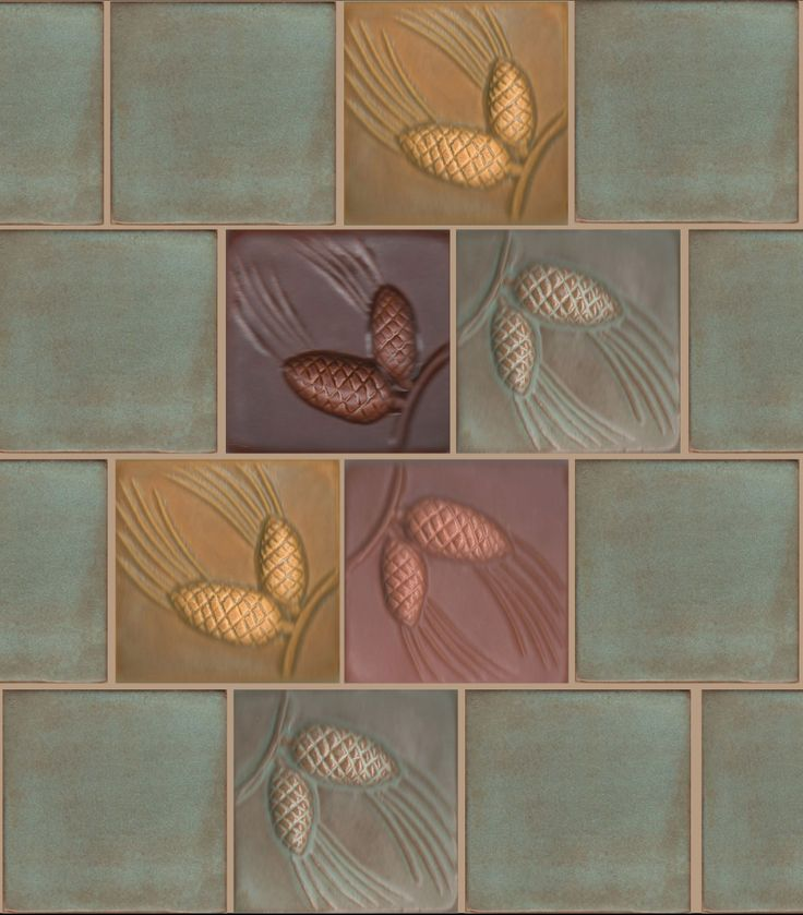 Tile Decor 221 Best Artisan And Vintage Tiles Images On Pinterest  Tiles