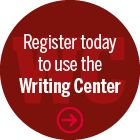 Register today to use the IU Southeast Writing Center