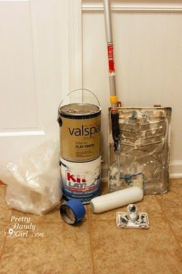 tutorial on painting ceilings like a pro.  Now someone posts this after I've already painted two ceilings.  ;)