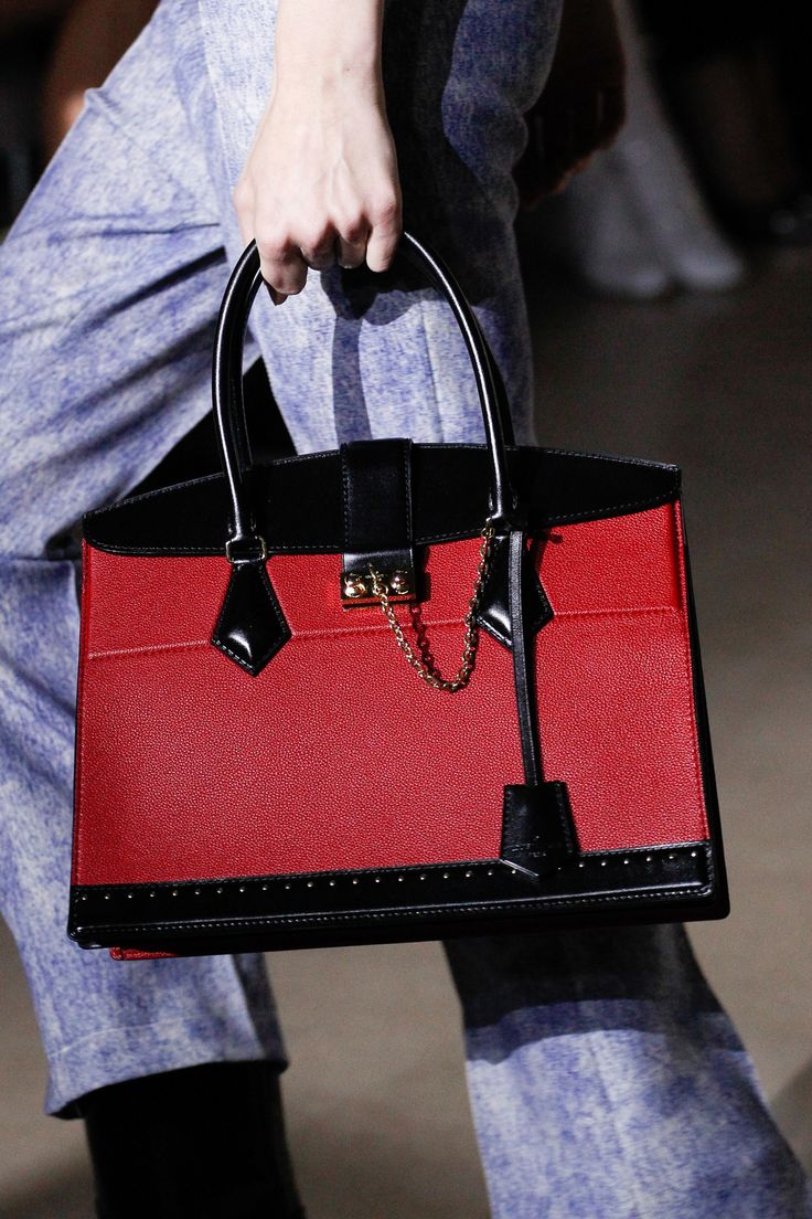 Louis Vuitton Fall 2017 Ready-to-Wear collection. This bag is simply stunning.