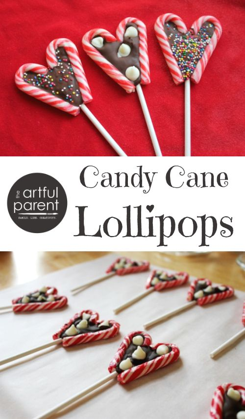 Make Your Own Candy Cane Lollipops