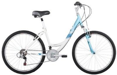 Comfort Bike - Diamondback Womens 2012 Serene Citi Classic Sport  (White/Teal, 15-Inch/ Small)