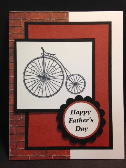 Timeless Talk, Father's Day Card, Masculine Card, Stampin' Up!, Rubber Stamping, Handmade Cards