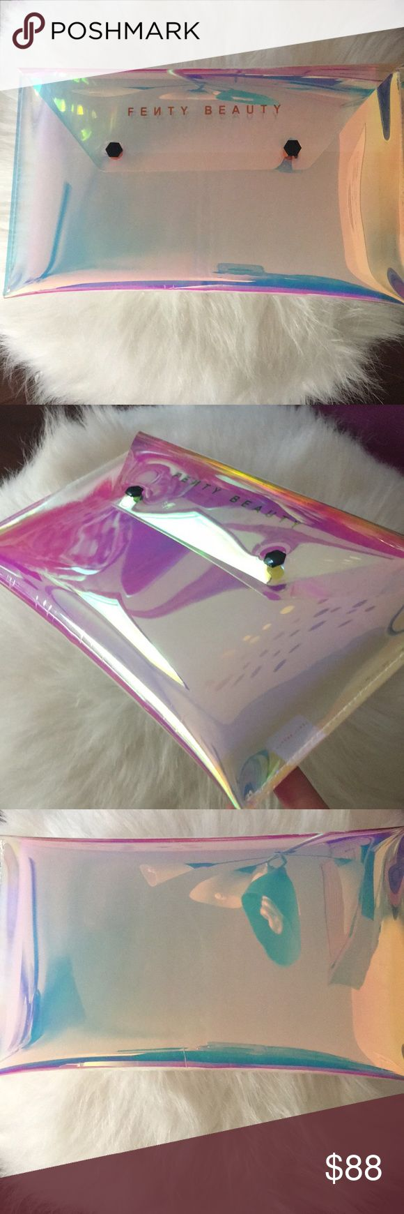EXCLUSIVE Fenty Clutch Bag Holographic Fenty envelope