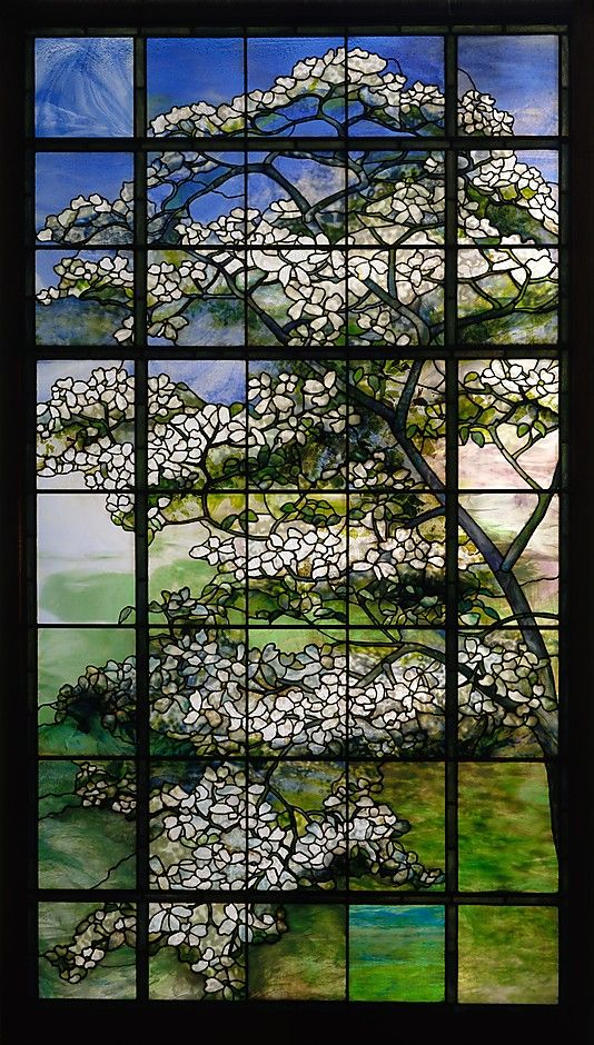Dogwood - Louis Comfort Tiffany