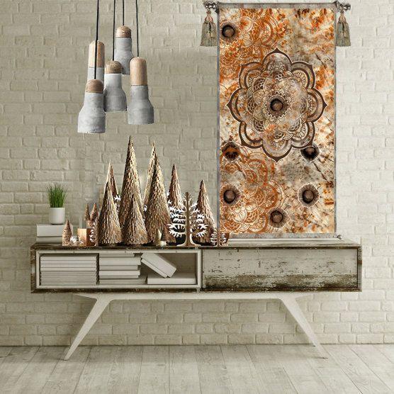 Mandala tapijt boho chic muur tapijt mandala door ThestoryoftheFall