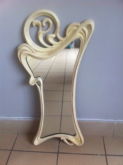 43 best laser and cnc router files for download images on for Miroir art nouveau