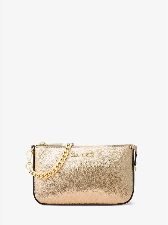 c8deb34a9c5eaa Pin by Today's Fashion Item on MICHAEL KORS FAVORITES   Wallet chain,  Leather chain, Metallic leather